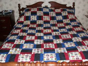 Logo Locomotion A Train Inspired Warm Wishes Quilt Finish