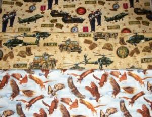 patriotic theme stash fabrics