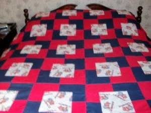 square in sq patriotic quilt