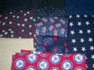 stars patriotic prints fabrics