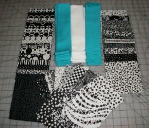 Broken Frames cut fabrics