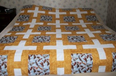 Eagle Plus quilt flimsy
