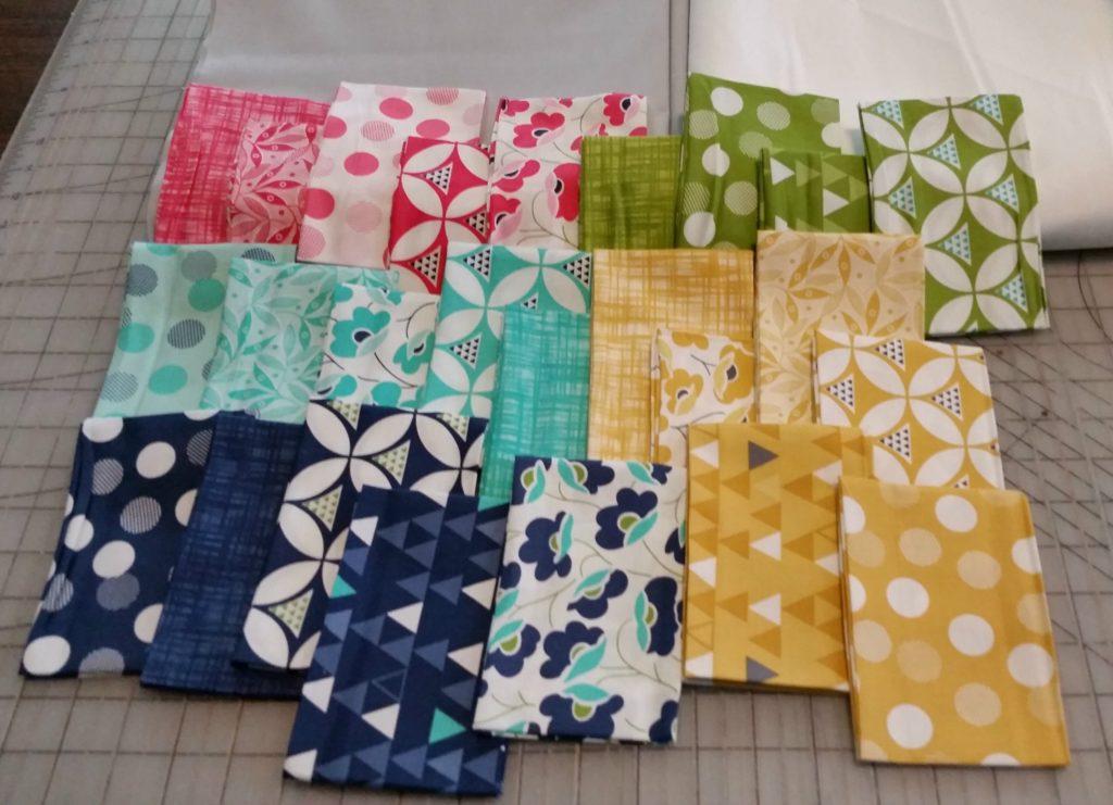 City Tiles fabrics