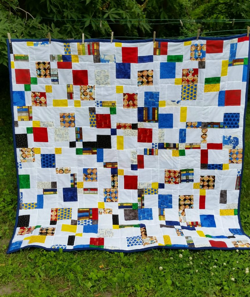 Nancy Drew quilt front hanging cropflash