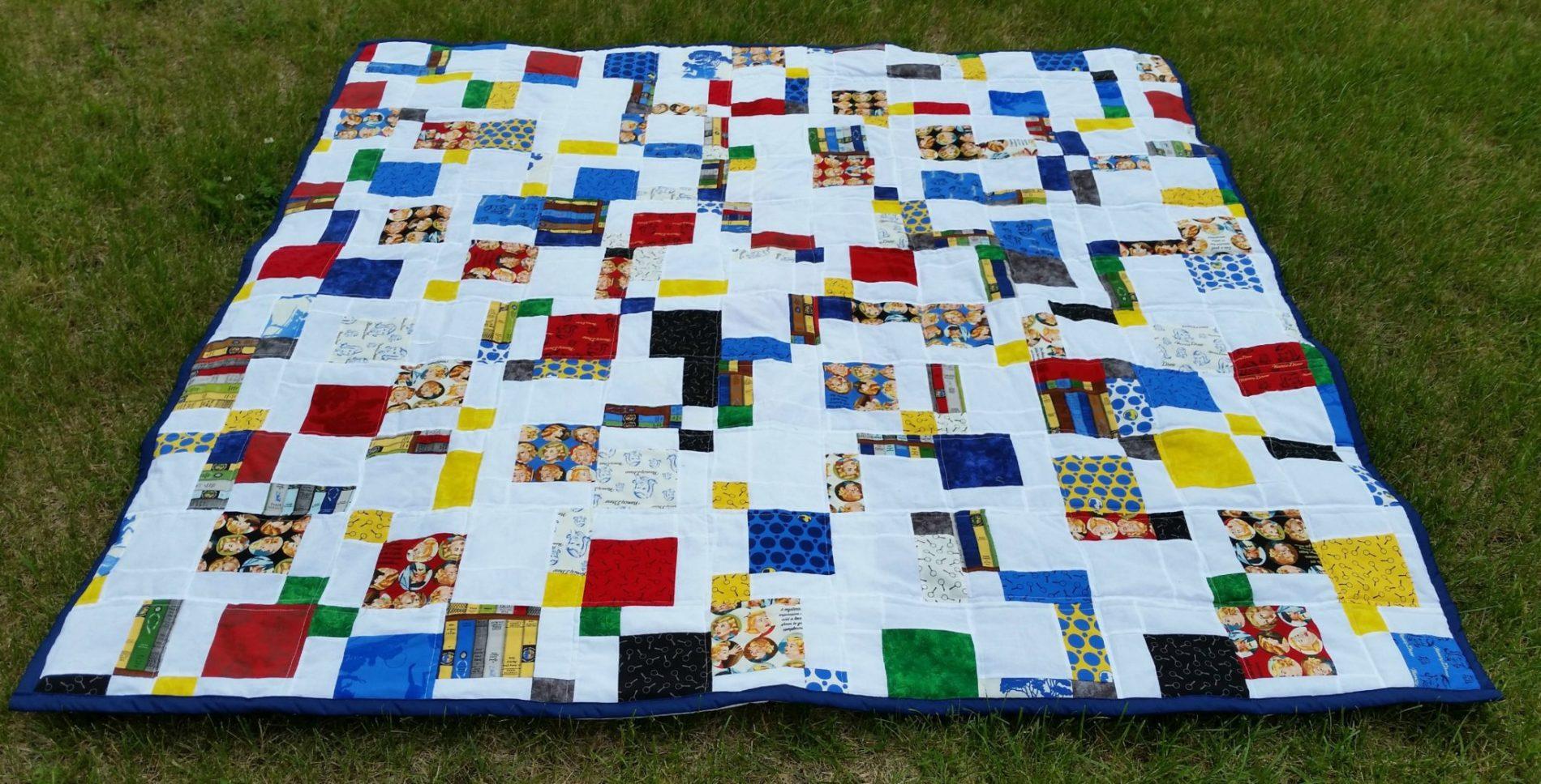 Get A Clue, Nancy Drew! Mod D9P Quilt Finish   The Carpenter's ... : d9p quilt pattern - Adamdwight.com