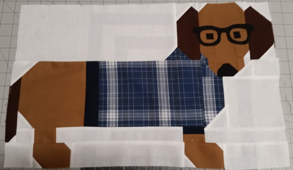 Dogs In Sweaters: Dad's Shirts Memory Quilt Project