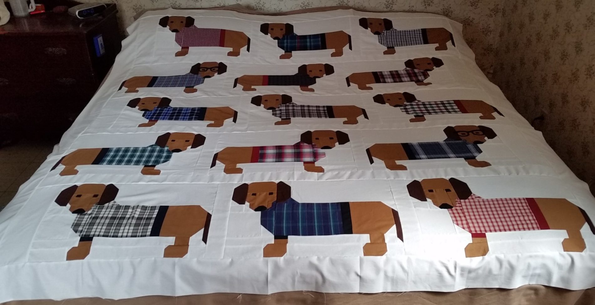 Dogs In Sweaters Dads Shirts Memory Quilt Project The